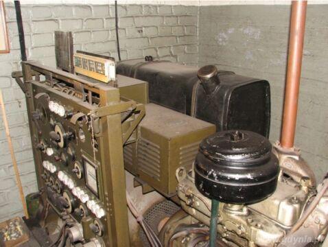 Generatory prądu w nadziemnym schronie