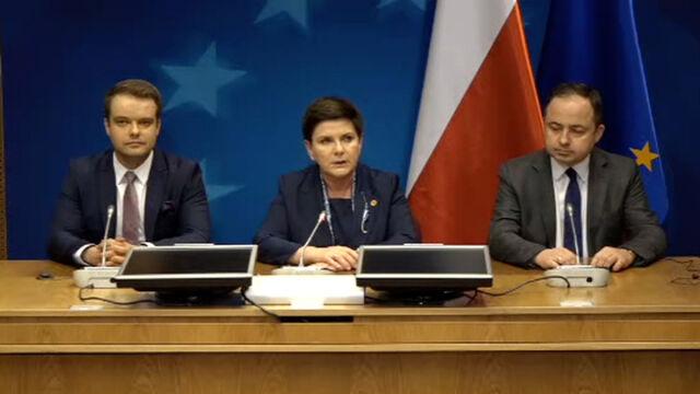 Premier: Zgłosiłam, iż nie będę przyjmować konkluzji z tego szczytu Unii Europejskiej