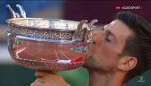 Djoković odebrał trofeum za wygranie French Open 2021