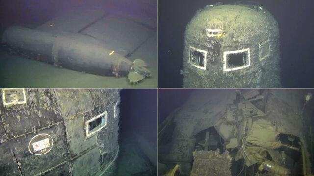 Radioaktywny wyciek z wraku sowieckiego okrętu atomowego