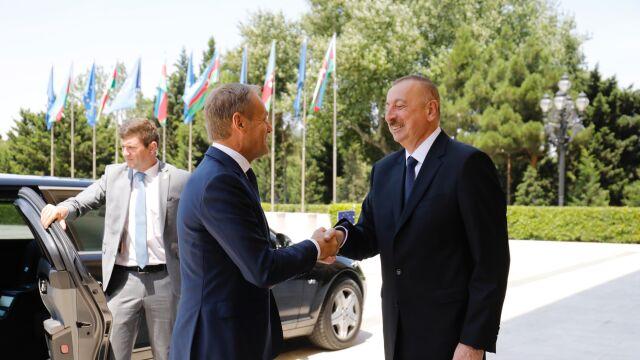 Tusk w Baku: rozwiązanie militarne konfliktu o Górski Karabach nie istnieje