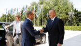Donald Tusk w Azerbejdżanie. Rozmowy m.in. o Górskim Karabachu