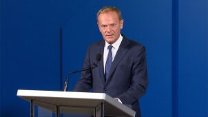 EU's Donald Tusk says Russia's Georgia flight ban