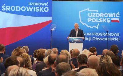 Schetyna: wzrost pensji Polaków będzie naszym oczkiem w głowie