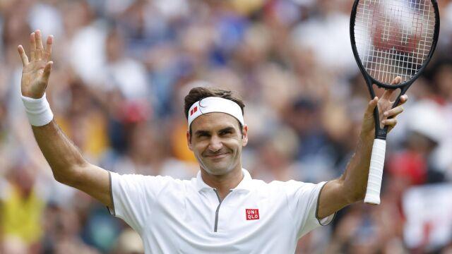 Setna wygrana Federera na Wimbledonie. Czas na klasyk z Nadalem