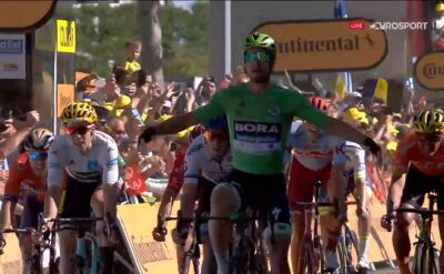 Sagan wygrał 5. etap Tour de France