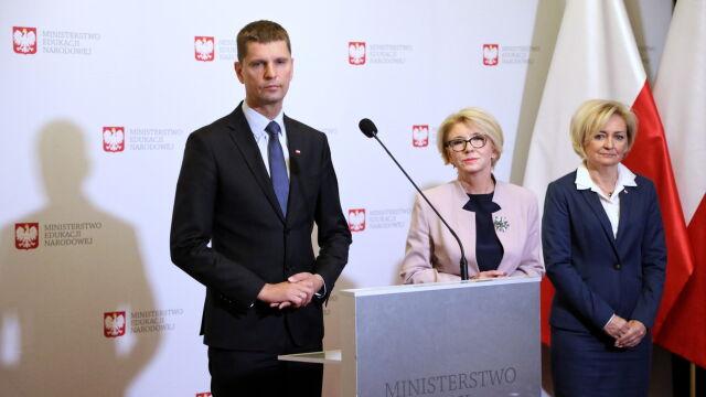 Dworczyk: z podziwem patrzę, jak minister edukacji mierzy się z wyzwaniami