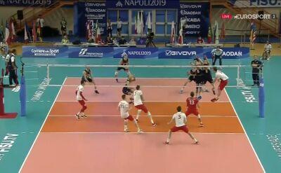 3. set finału dla Polski. Biało-Czerwoni blisko złotych medali