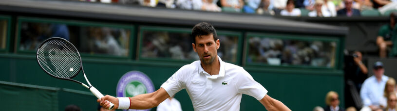 Ekspresowy Djoković. Ma półfinał Wimbledonu