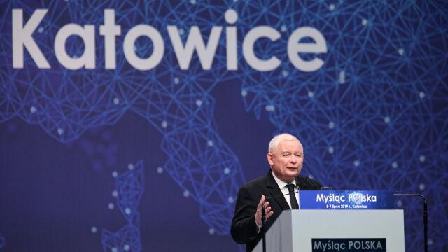 """Kaczyński o """"wielkiej ofensywie zła"""". """"Powinien wziąć lustro i głęboko zajrzeć w swoje oczy"""""""