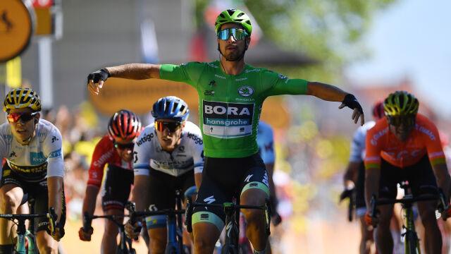 Sagan pokazał moc. Świetny finisz i dwunasty triumf w historii