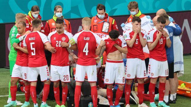 Reprezentacja Danii wyróżniona za postawę wobec Eriksena