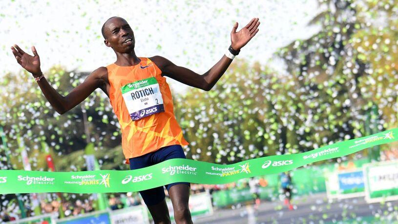 Rekord trasy maratonu w Paryżu przetrwał siedem lat