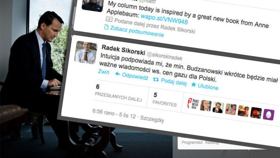 """""""Intuicja"""" ministra ws. cen gazu. Zdradził informacje poufne na twitterze?"""