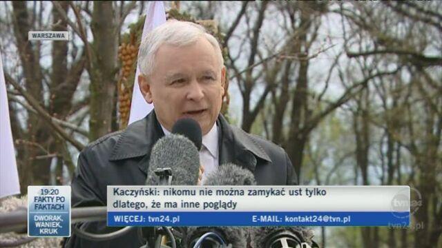 Jarosław Kaczyński o praworządności w Polsce (TVN24)