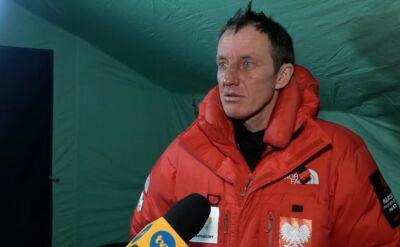 Denis Urubko o decyzji powrotu z wyprawy