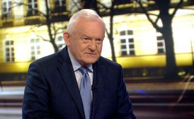 Miller: nasi rządzący mówią do elektoratu w Polsce, nie do zagranicznych partnerów