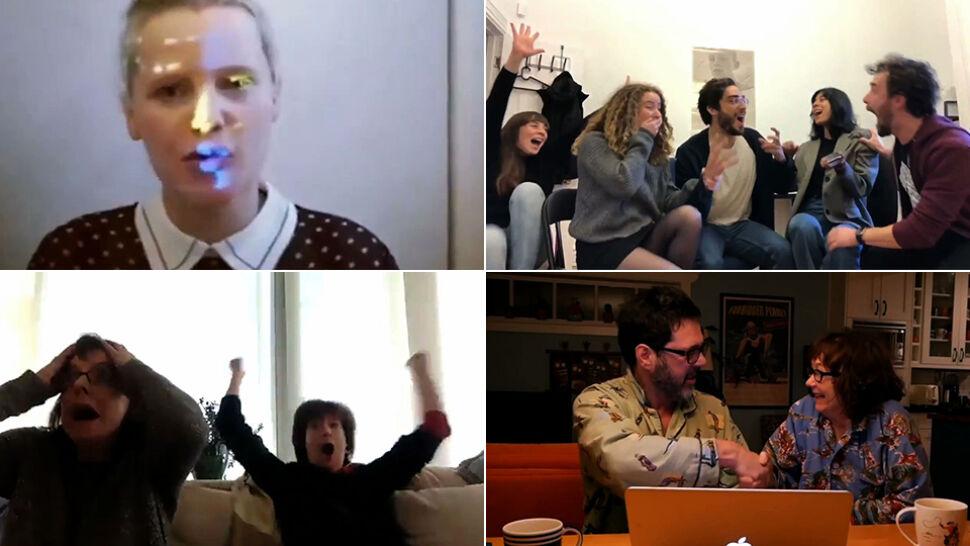 Akademia pokazała kompilację wideo, na której widać radość nominowanych