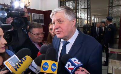 """Jurgiel mówił, że do Brukseli się nie wybiera. Został """"dwójką"""" na listach PiS"""