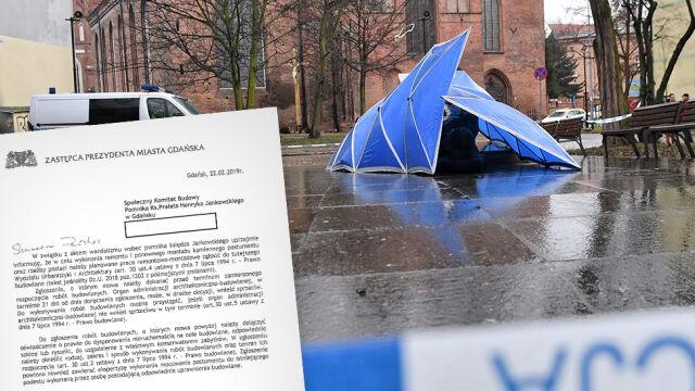 Władze Gdańska: ponowny montaż pomnika wymaga zgłoszenia, a to potrwa