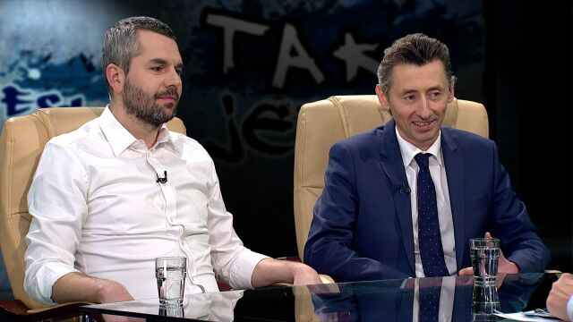 Maciej Konieczny i Maciej Gdula w Tak Jest