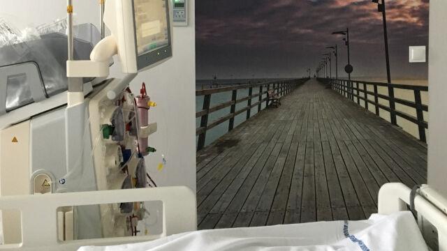 Szum lasu, plusk potoku, śpiew ptaków, jazz  usłyszy pacjent OIOM-u w szczecińskim szpitalu