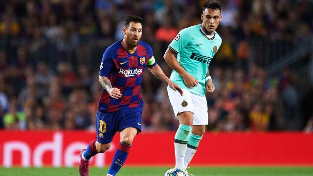 """""""Kto by nie chciał grać z Messim?"""" Agent Lautaro Martineza puszcza oko Barcelonie"""