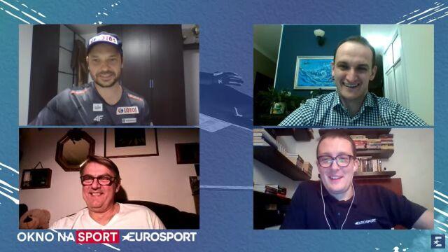 """Doleżal w """"Oknie na sport"""" o sezonie na czwórkę i treningach przez Skype'a"""