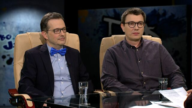 Jan Wróbel i Grzegorz Sroczyński w Tak Jest