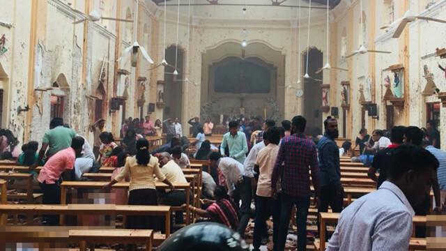Trzy kościoły i trzy hotele zaatakowane na Sri Lance