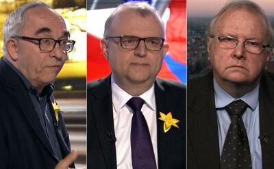 """Smolar, Ujazdowski i Hall w """"Faktach po Faktach"""". Cała rozmowa"""