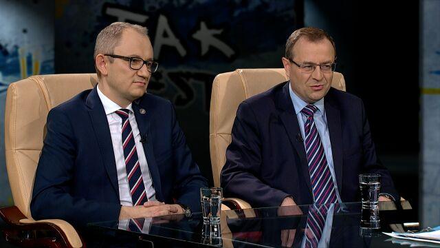 prof. Antoni Dudek i dr Błażej Poboży w Tak Jest