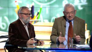 Profesor Ryszard Bugaj i Ludwik Dorn w
