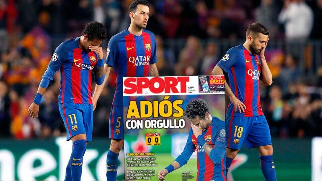 """Barcelona płacze. """"Pożegnanie z dumą"""", """"Pogrzeb"""""""