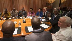 Premier spotkał się w Zambii  z absolwentami polskich uczelni