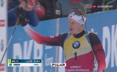 Johannes Boe wygrał bieg masowy w Le Grand Bornand