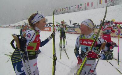 Szwedki zdominowały sprint drużynowy w Planicy