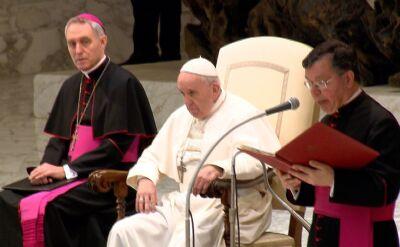 """Papież Franciszek zniósł """"tajemnicę papieską"""""""