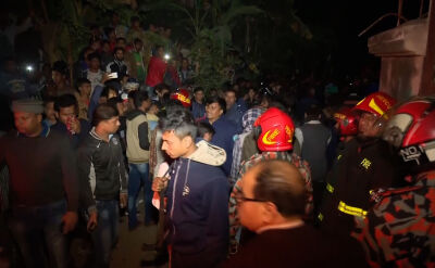 Pożar w fabryce wentylatorów Dhace