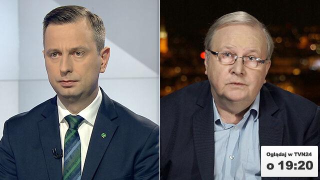 """Władysław Kosiniak-Kamysz i Aleksander Hall dziś w """"Faktach po Faktach"""""""