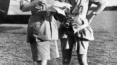 """Gen. Archibald Wavell (z prawej) był zaskoczony sukcesem operacji """"Compass"""""""