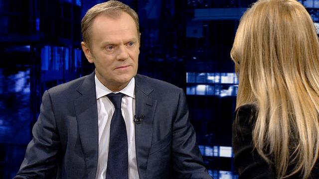 Tusk: Putin uzyskał swój krótkoterminowy cel - zablokowanie Ukrainy na drodze do Europy [całość programu]