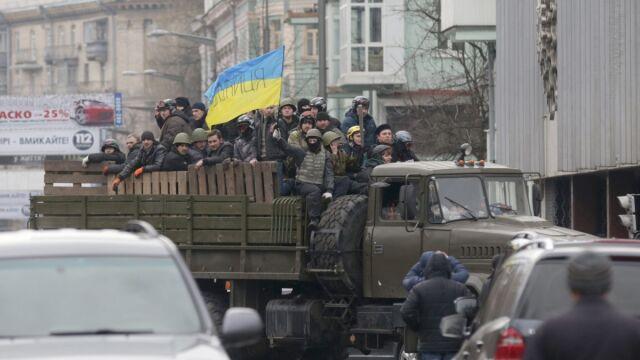 Władza w Kijowie nie należy do rządu. MSW prosi obywateli o współpracę