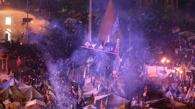 Jałocha: Ze Lwowa ruszyły do Kijowa autokary z demonstrującymi