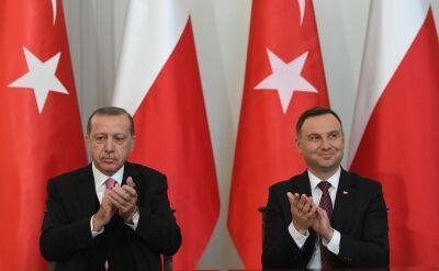 Erdogan o relacjach polsko-tureckich
