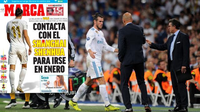 """Bale znów chce opuścić Real. """"Poprosił już swojego agenta"""""""
