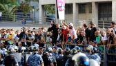Zwolennicy Hezbollahu starli się z demonstrantami i policją