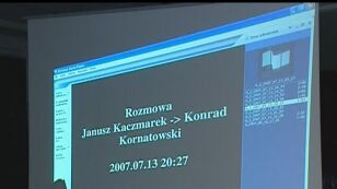 Rozmowa V Kaczmarek z Kornatowskim