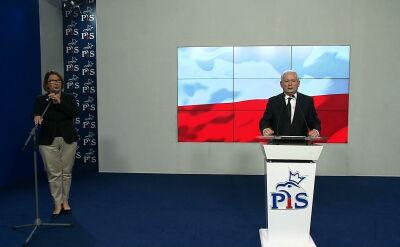 Kaczyński: to był system wielkiego nadużycia, sądownictwo było jego częścią