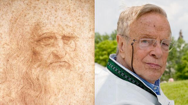 Legenda włoskiego kina potomkiem Leonarda da Vinci